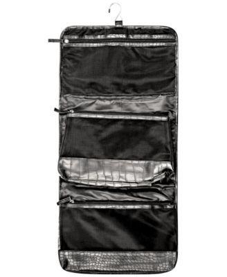 Nyx Professional Makeup Black Croc-Embossed Travel Makeup Bag