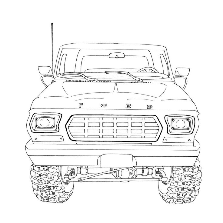 101 best images about drawing of ford on pinterest