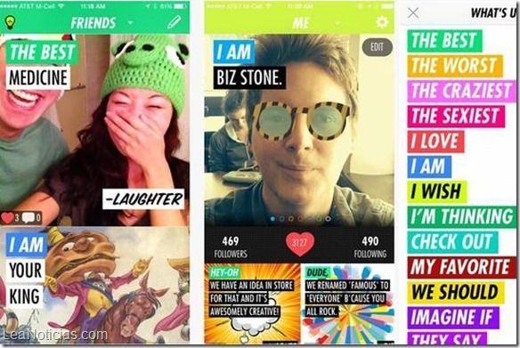"""Uno de los fundadores de Twitter, lanza una """"app"""" para crear 'memes' - http://www.leanoticias.com/2014/11/19/uno-de-los-fundadores-de-twitter-lanza-una-app-para-crear-memes/"""