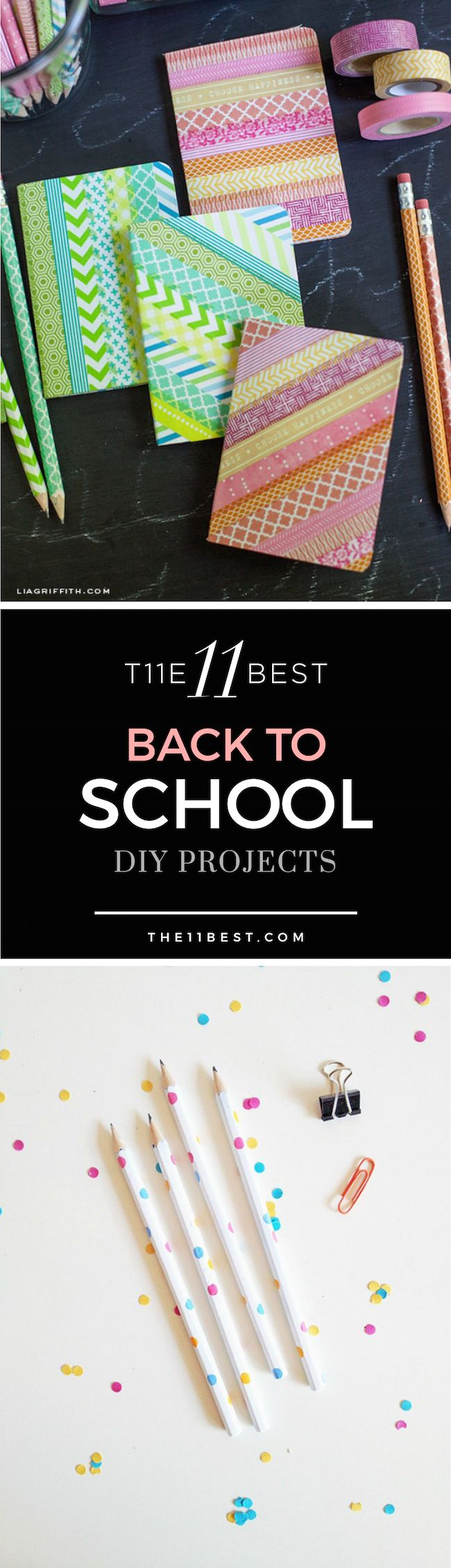 back to school diy projects