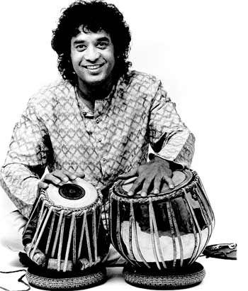 Zakhir Hussain the tabla maestro !