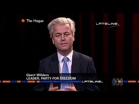 Geert Wilders Islam Warning to Australia - NOTE THE VERY IGNORANCE OF THE INTERVIEWER!!