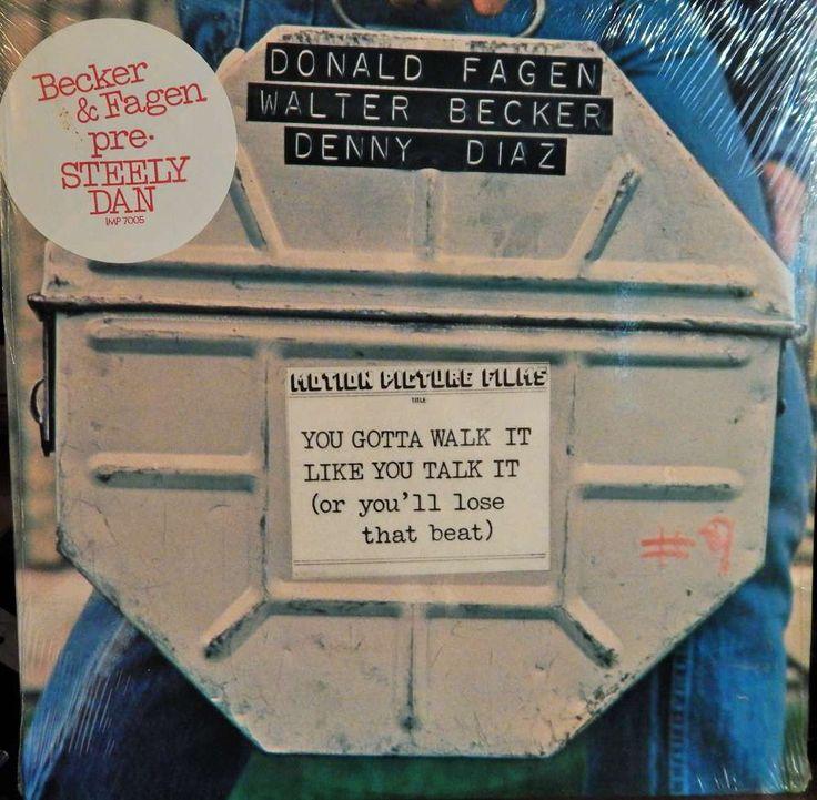"YOU GOTTA WALK IT LIKE YOU TALK IT 12"" VINYL LP MINT ORIGINAL SOUNDTRACK (1978, MUSIC DONALD FAGEN)"
