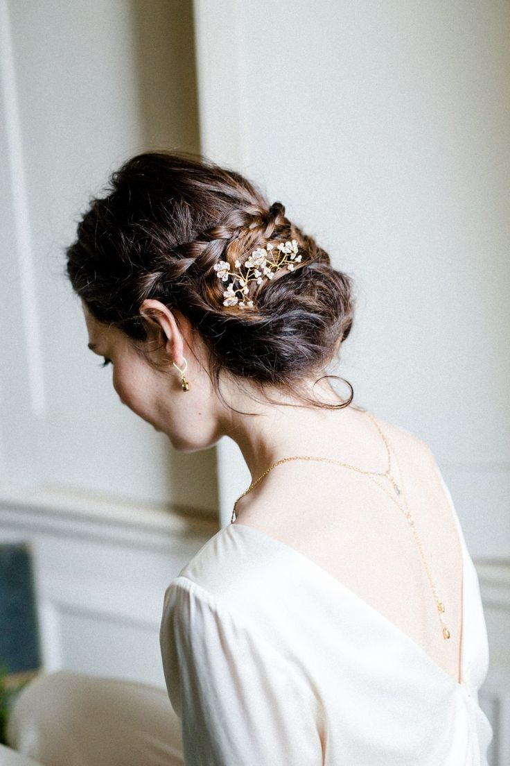 8718 best Bridal Hair Accessories images on Pinterest | Wedding hair ...