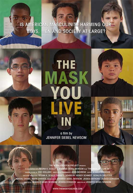 The Mask You Live In - https://bysarlo.com/the-mask-you-live-in/