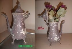 Take a look at how I restored this beautifully Rustic Teapot!