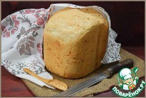"""Тостовый чесночный хлеб... Ингредиенты для """"Тостовый чесночный хлеб"""": Мука пшеничная — 600 г Мука ржаная — 80 г Дрожжи (сухие, быстродействующие) — 2 ч. л. Сахар — 2 ч. л. Соль — 2 ч. л. Молоко сухое — 2 ст. л. Масло растительное (или сливочное, расторить) — 2 ст. л. Вода — 400...410 мл Порошок чесночный (гранулированный) — 1 ст. л."""
