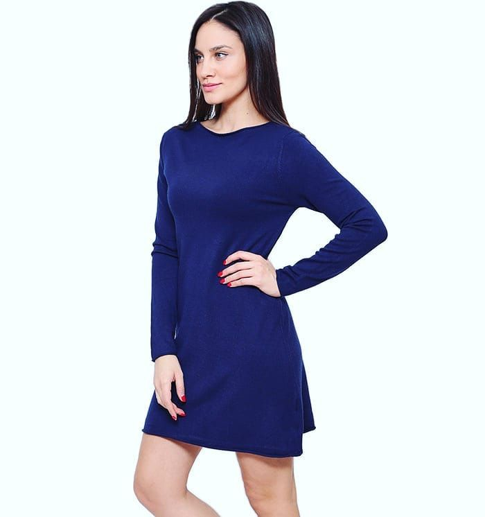 So Simple..Yet So Chiconly 1899Shop Now at www.capriccioshop.gr  #woman #women #dresses #dress #knit #knitwear #knits #casual #casualdress #cute #warm #cozy #fashionista #fashionstyle #fashion #instamood #sales #stock #shopping #womenshopping #buyitnow #onlineshop #styleblogger #stylish #girly #blue #girls #outfit #wintersales