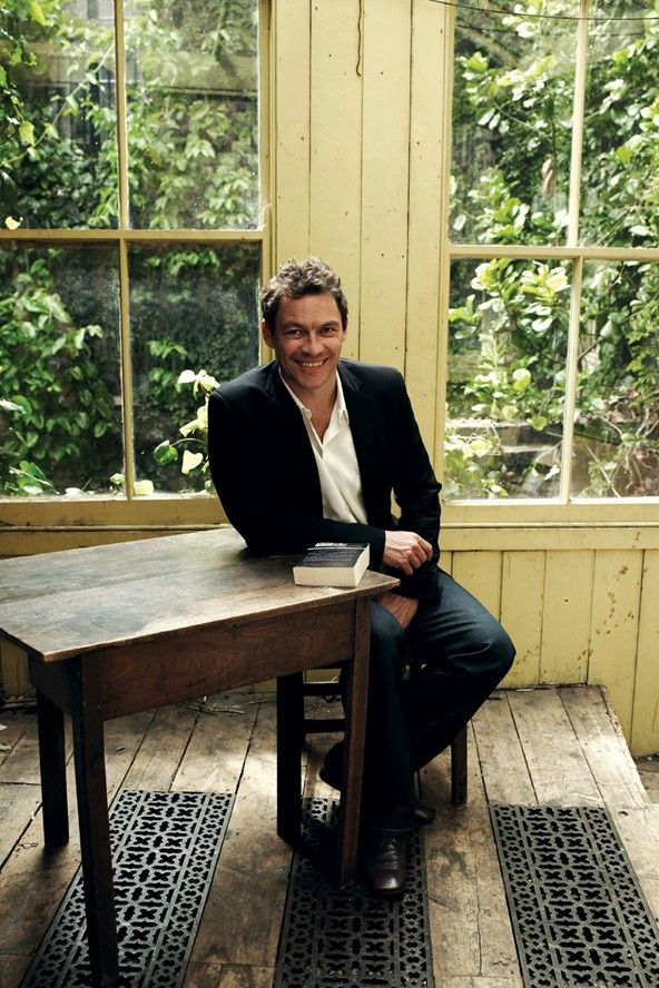 Dominic West and a copy of Pride and Prejudice. That is all.