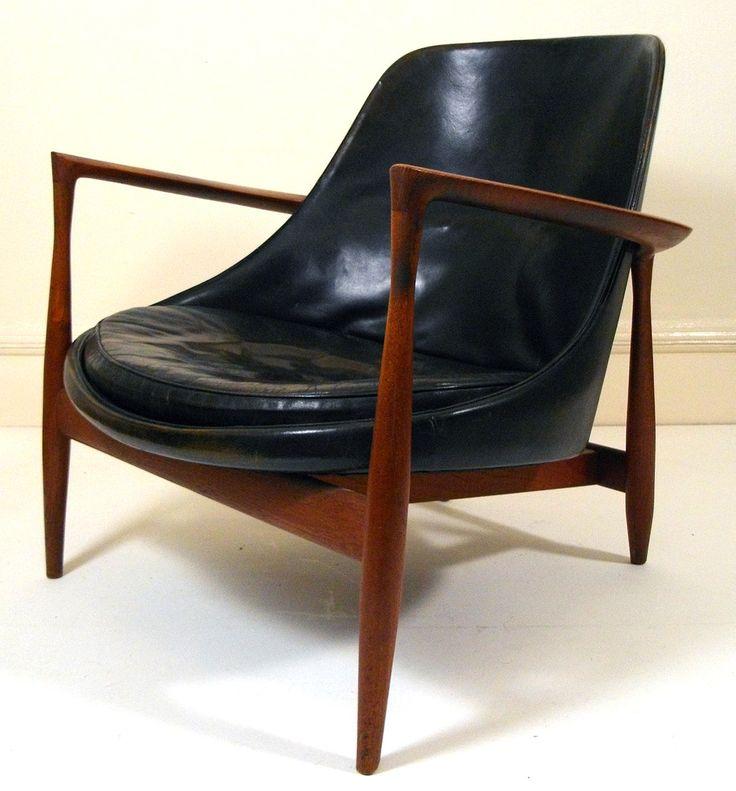 1950s Elisabeth Chair by Ib Kofod Larsen