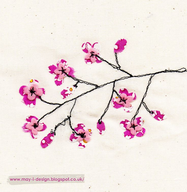 Spring into design day five... today's prompt is blossom http://may-i-design.blogspot.co.uk/