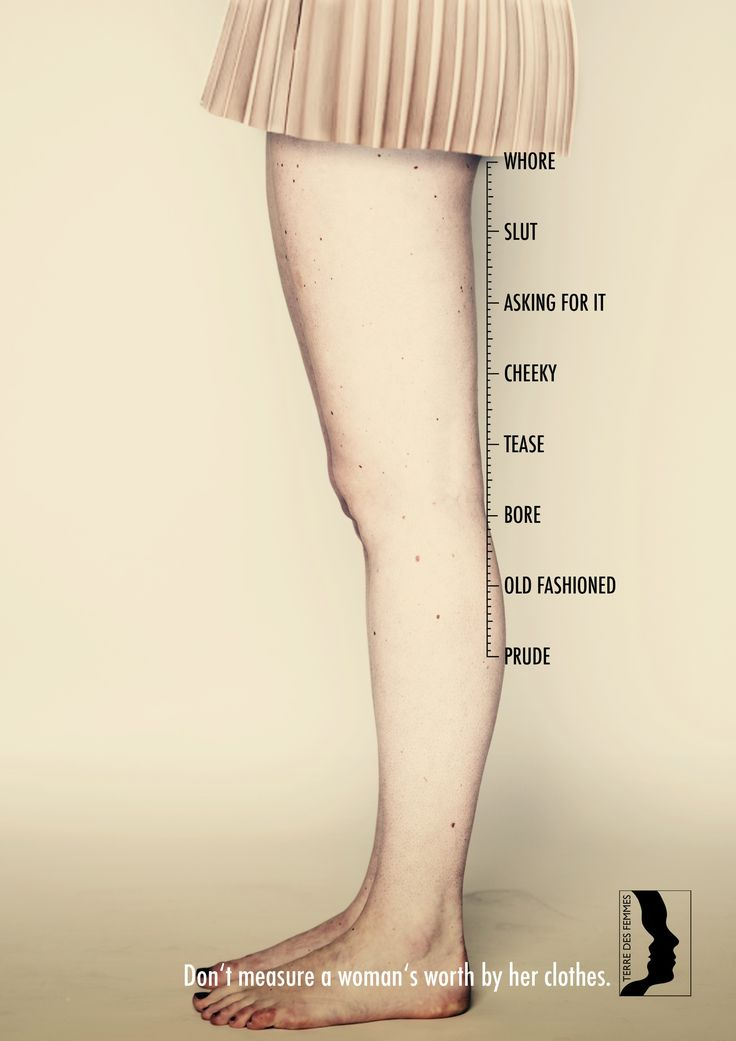 Adeevee - Terre des Femmes: Don't measure a woman's worth by her clothes  #RePin by AT Social Media Marketing - Pinterest Marketing Specialists ATSocialMedia.co.uk