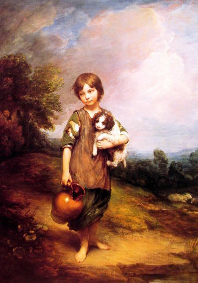 Week 15 Great Artists: Thomas Gainsborough (1727 – 1788, English)
