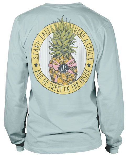 Zeta Tau Alpha Pineapple T-shirt