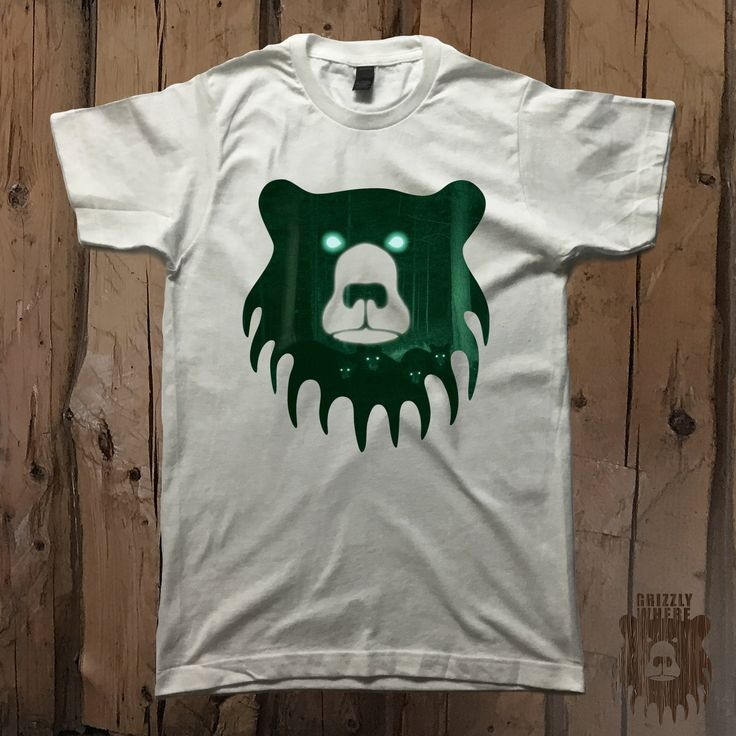 Night Vision Bears Graphic Tee