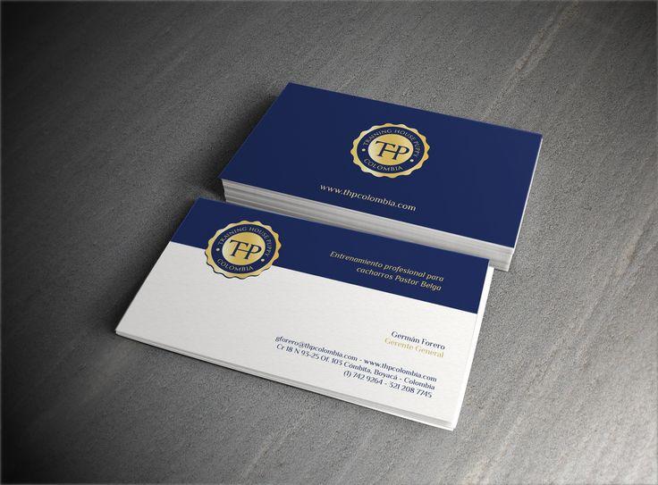 Diseño Logo y Tarjetas de Presentación THP (Training House Puppy)
