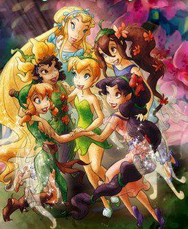 Tinkerbell Disney Wiki | fairies from the Disney Fairies books