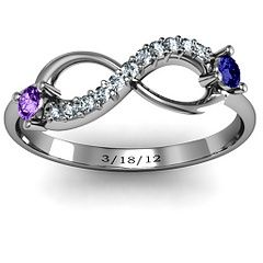 Double Stone Infinity promise ring. love this!!