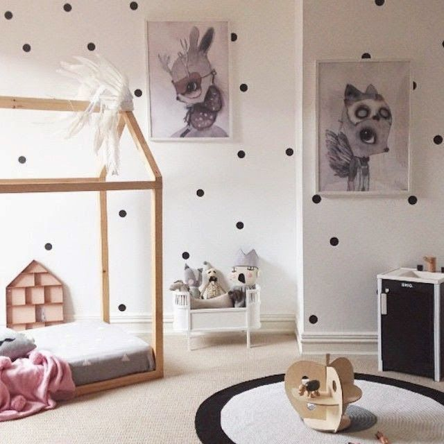 1000 ideas about polka dot bedding on pinterest for Polka dot bedroom designs