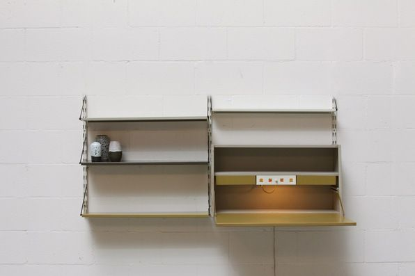 Pilastro 2 Section Industrial Wall Unit