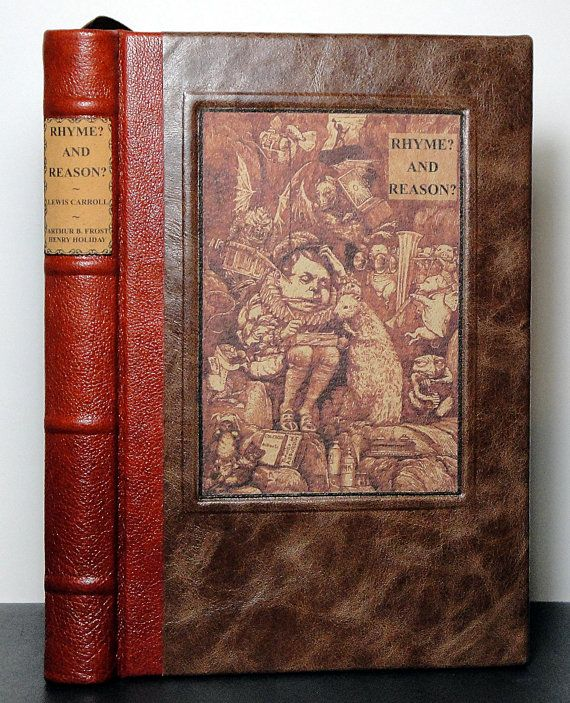 RHYME AND REASON by Lewis Carroll  1907 Antique by AFondness4Books