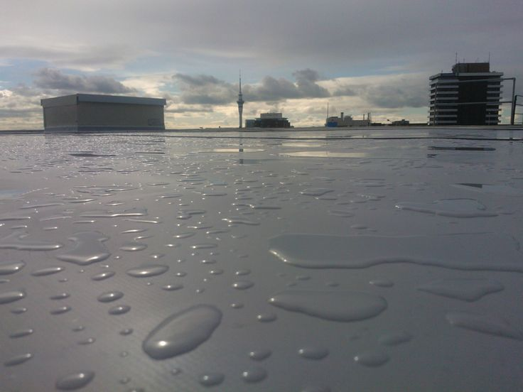 Enviroclad creates a watertight membrane roof finish.  It is a TPO waterproofing membrane with proven performance in New Zealand