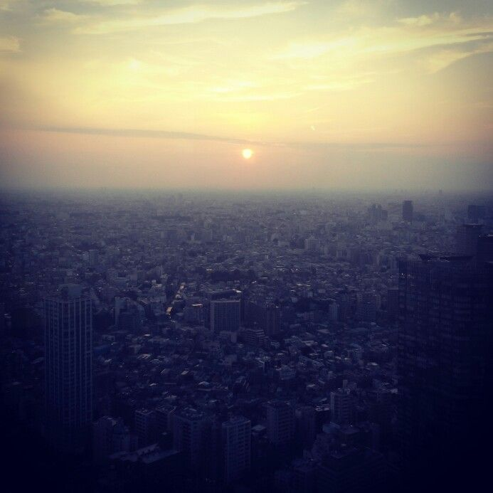 Sunset view of Tokyo ♥