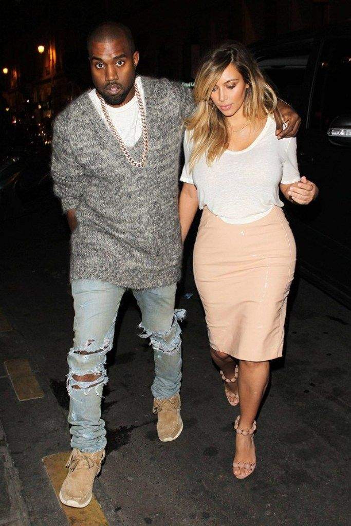 Top Celebrity Men's Fashion Trends for Summer 2014 ... Kanye-West-and-Kim-Kardashian_glamour_01oct13_rex_b_592x888 └▶ └▶ http://www.pouted.com/?p=37073
