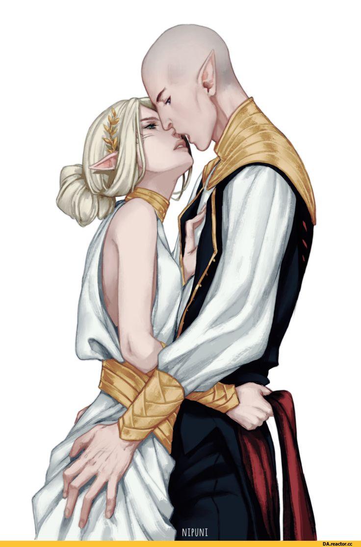 Dragon Age,фэндомы,DA персонажи,Инквизитор (DA),Солас,DAI,Nipuni