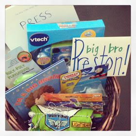 NEW big brother hospital gift basket