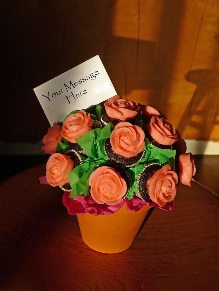 Cupcake BouquetCupcake Bouquets, Sweets Cupcakes, Baking Idease Desserts, Cake Pop, Things Cupcakes, Cupcakes Bouquets Cov, Cupcakebox Inspiration, Birthday Cake, Cupcakes Rosa-Choqu