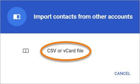 Select CSV