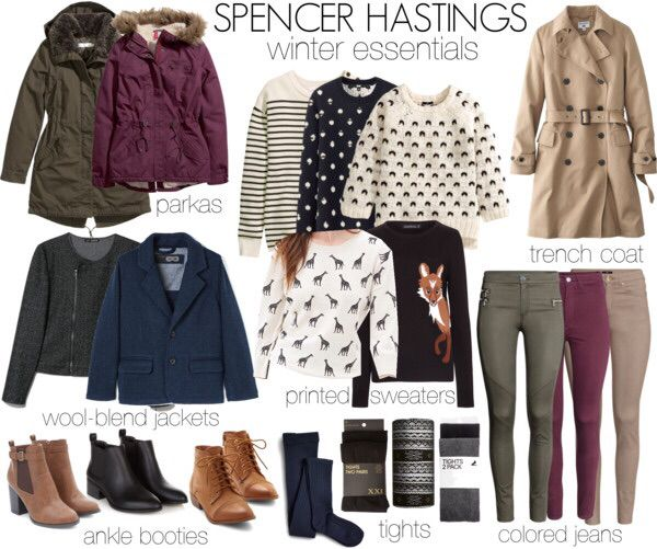 Spencer Hastings essentials ♡