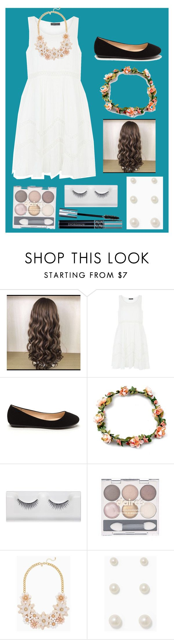 """""""Middle school dance"""" by pineappleprincess38 ❤ liked on Polyvore featuring New Look and claire's"""