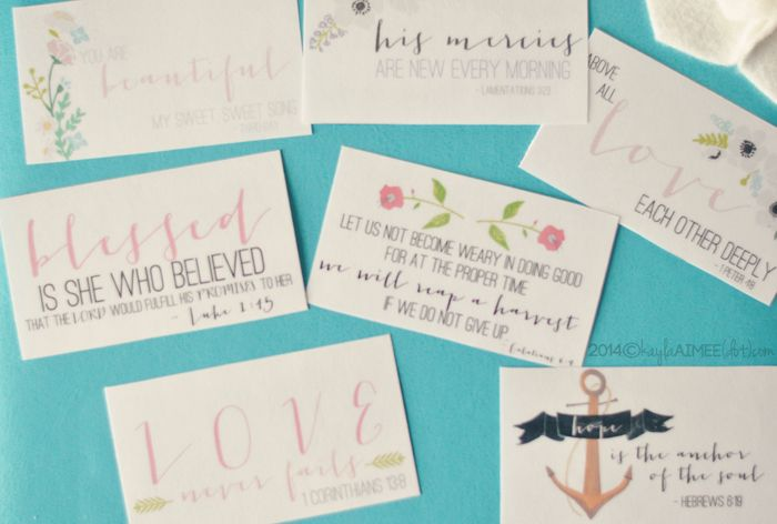 When I was in college I did a bible study called Breaking Free by Beth Moore. It was life changing and I recall the verses I memorized during that study more than any, likely due to the fact that it included a page of bible verses on little cards to... Read More →