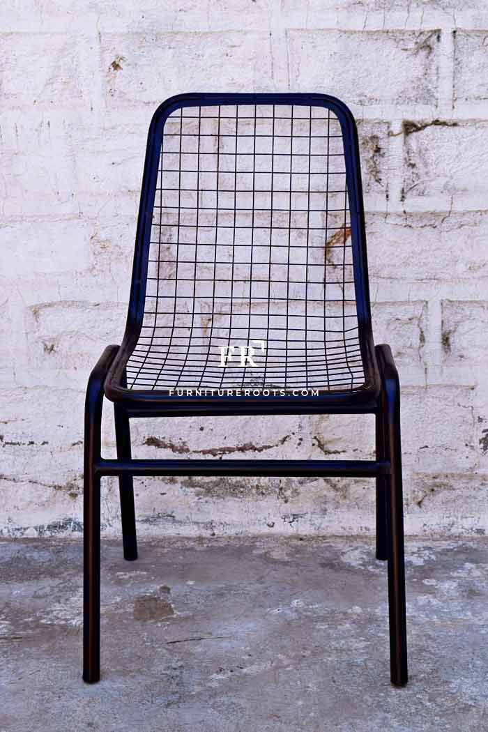Old Metal Outdoor Chair