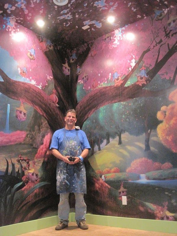 1000 Ideas About Disney Mural On Pinterest Disney Rooms