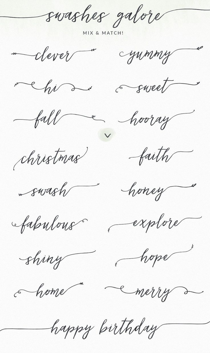 Lovefern Font + SWASHES by Angie makes you creative