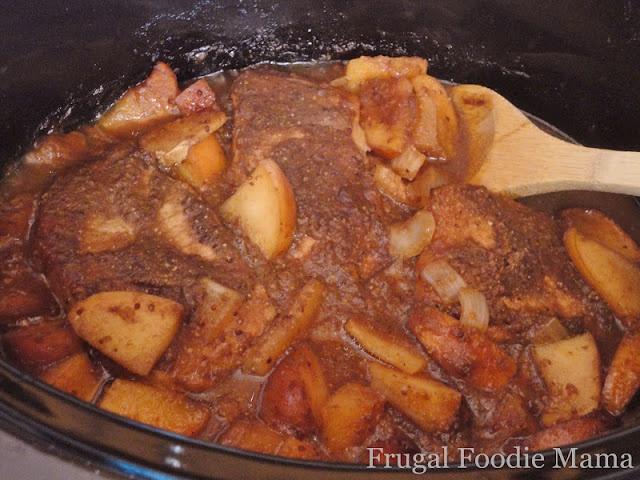 Crockpot Apple butter pork loin | Lunch/Dinner Meals and Recipes | Pi ...