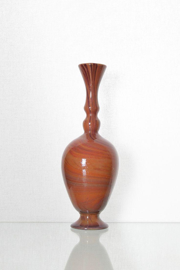"""Francesco Ferro 1890 Vase """"Calcedonio"""" Francesco Ferro e Figlio, Murano. For more information: http://tillipan.com/francesco-ferro/francesco-ferro-2/"""