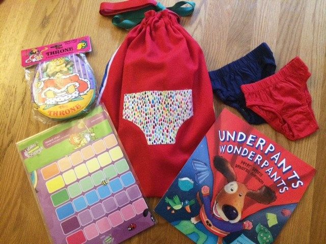 Underpants Wonderpants Toilet Training Story Sack Bundle by LollyAndCo on Etsy