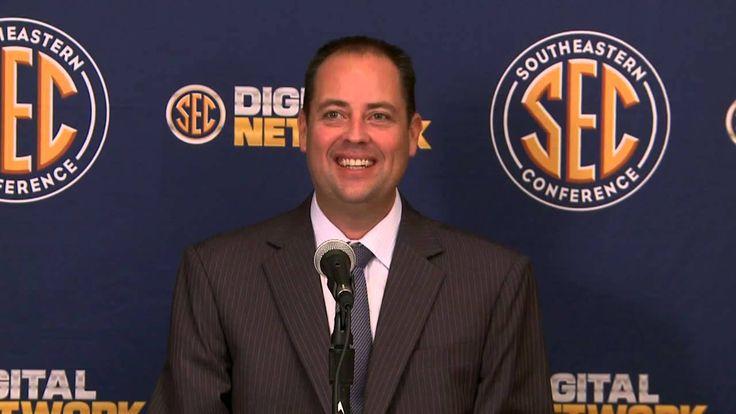 2012 SEC Basketball Media Day - Ole Miss' Brett Frank - YouTube