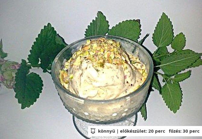 Pisztácia fagylalt