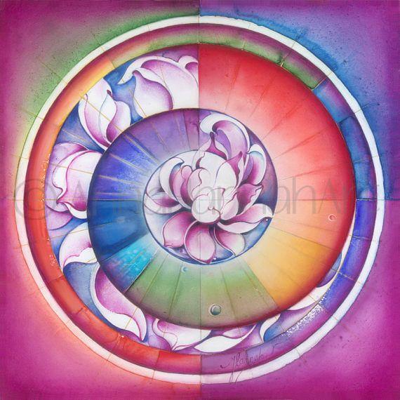 """Seed of Life"" - Mandala of Divine Creation"