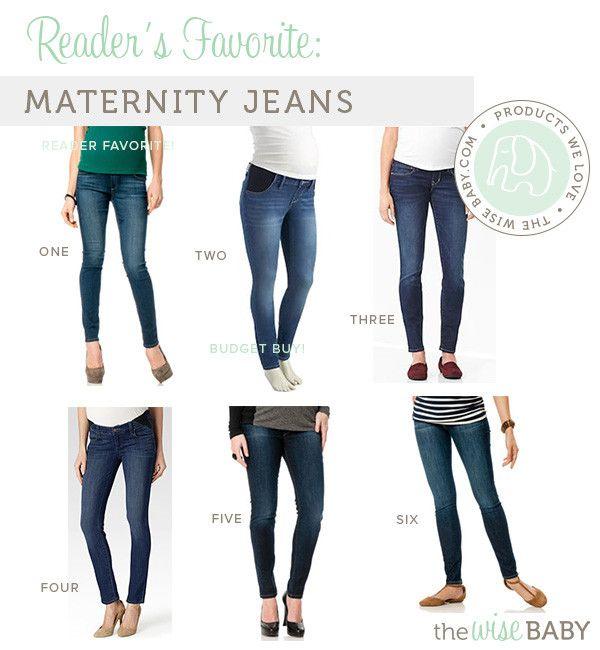 Readers Favorite Maternity Jeans