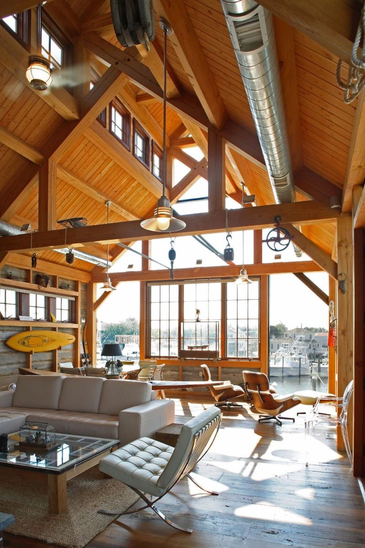 13 best images about boat house on pinterest beautiful for Beautiful a frame homes