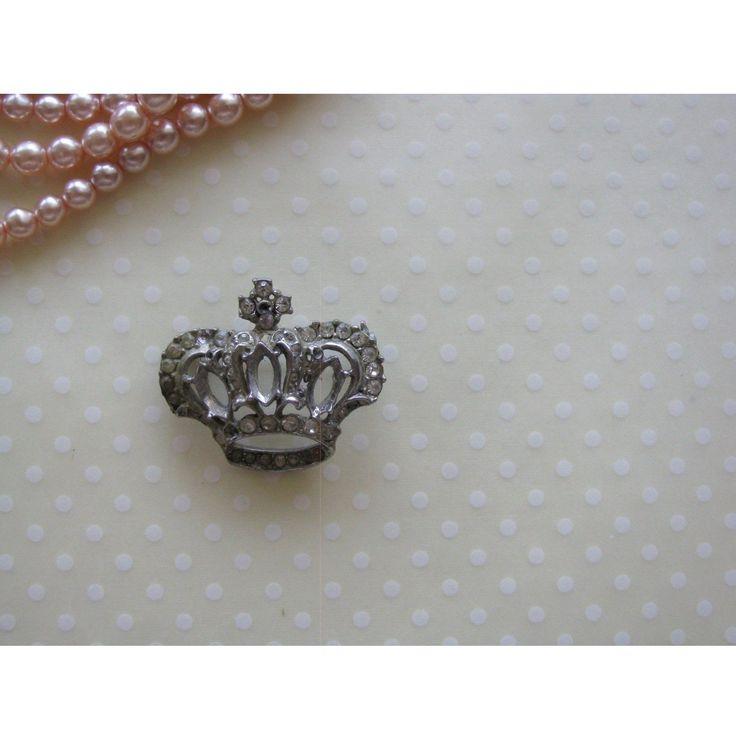 Regal Crown Brooch