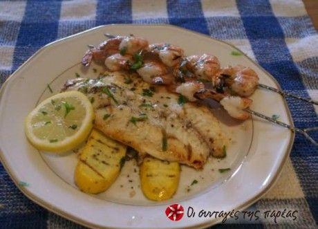 Μια συνταγή απλή, ελαφριά και πολύ νόστιμη ακόμη και για όσους δεν αγαπούν ιδιαίτερα τα ψάρια.
