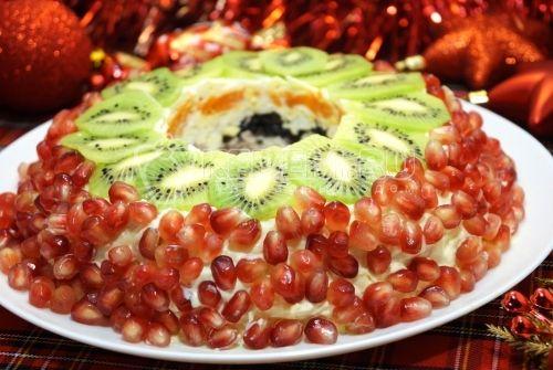 Салат «Дамский каприз» – Рецепт с фото. Рецепты. Новогодние рецепты 2017. Салаты на Новый год