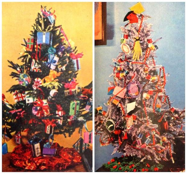 Jam-packed trees were all the rage this year – just look at these ones featured  in the December 1955 issue of Good Housekeeping.   - HouseBeautiful.com